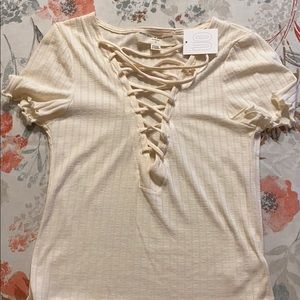 🌻Urban Outfitters Project Social Crop Top NWT